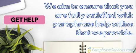 paraphrase services